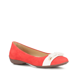 Női cipő, piros, 88-D-704-3-36, Fénykép 1