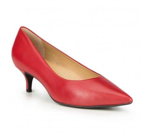 Női cipő, piros, 87-D-706-3-42, Fénykép 1