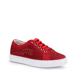 Női cipő, piros, 86-D-916-3-37, Fénykép 1