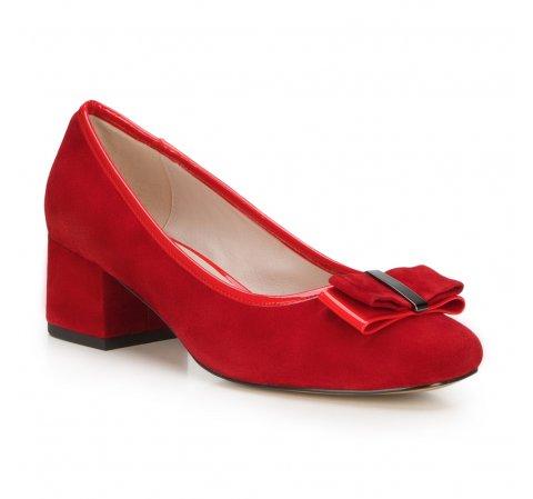 Női cipő, piros, 88-D-954-8-36, Fénykép 1