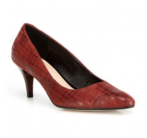 Női cipő, piros, 90-D-203-7-40, Fénykép 1