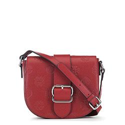 Női borítéktáska típusú bőrtáska, piros, 91-4E-612-3, Fénykép 1