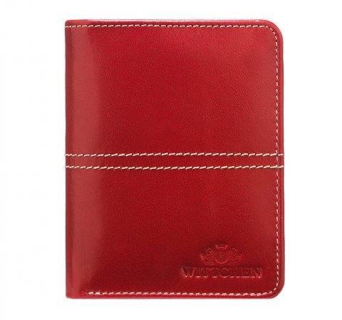 Pénztárca, piros, 14-1-120-L3, Fénykép 1