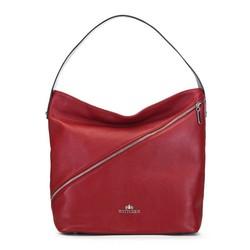 Shopper táska cipzáras, piros, 91-4E-606-3, Fénykép 1