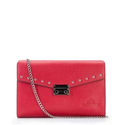 Női táska, piros, 87-4-161-3, Fénykép 1