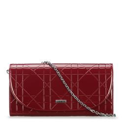 Női estélyi táska, sötét vörös, 91-4Y-603-3, Fénykép 1