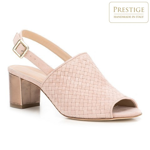 Női cipő, por rózsaszín, 88-D-105-P-36, Fénykép 1