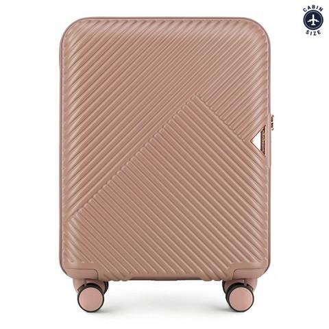 Kabinové zavazadlo, púdrová ružová, 56-3P-841-77, Obrázek 1