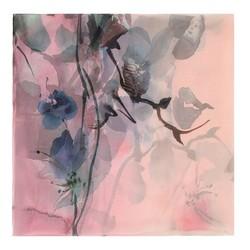Damenschal, rosa-blau, 88-7D-S40-X2, Bild 1