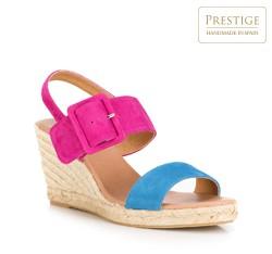 Frauen Schuhe, rosa-blau, 88-D-505-7-40, Bild 1