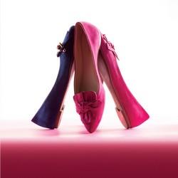 Damenschuhe, rosa, 86-D-753-P-35, Bild 1