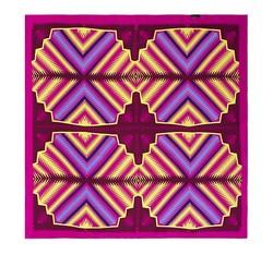 Frauen Halstuch, rosa-gelb, 86-7D-S13-X2, Bild 1
