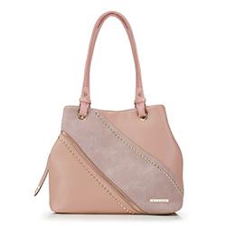 Shopper-Tasche, rosa, 88-4Y-405-P, Bild 1