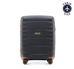 Kleiner Koffer, schwarz-braun, 56-3T-761-10, Bild 1