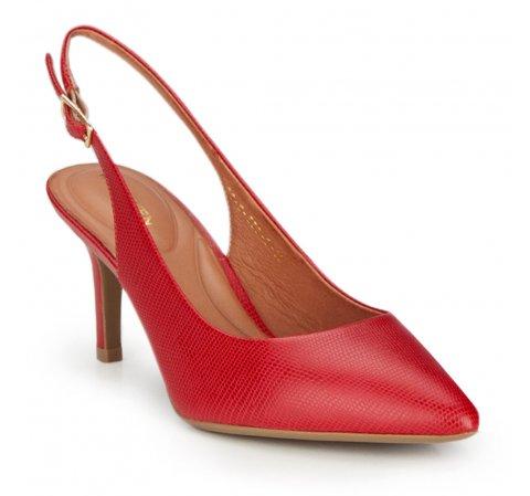 Damenschuhe, rot, 86-D-559-7-35, Bild 1