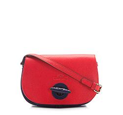 Damentasche, rot-dunkelblau, 86-4E-201-2, Bild 1