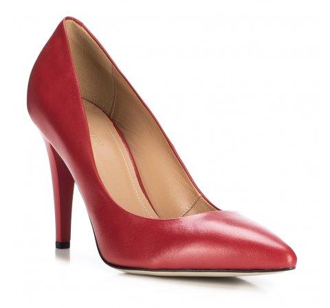 Frauen Schuhe, rot, 88-D-600-9-40, Bild 1