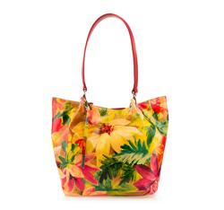 Damentasche, rot-gelb, 85-4E-053-X8, Bild 1