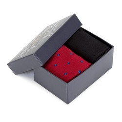 SOCKEN, rot-schwarz, 90-SK-004-X6-40/42, Bild 1