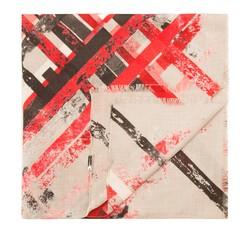 Schal, rot-schwarz, 85-7D-X06-X1, Bild 1