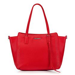 Shopper-Tasche, rot, 88-4Y-400-3, Bild 1