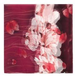 Damenschal, rot-weiß, 88-7D-S40-X8, Bild 1
