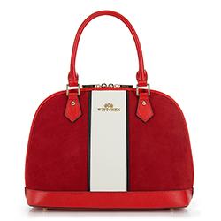 Einkaufstasche, rot-weiß, 90-4E-601-3, Bild 1
