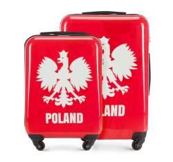 Gepäcksatz, rot-weiß, 56-3A-24S-WR, Bild 1