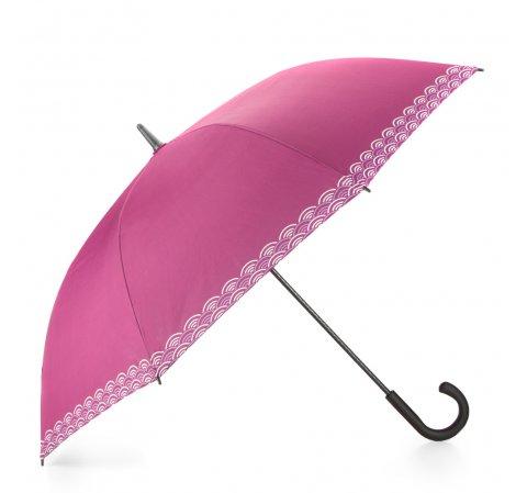 Зонт, розово - белый, PA-7-160-Z, Фотография 1