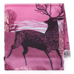 Шелковый шарф, розово - фиолетовый, 93-7D-S40-5, Фотография 1