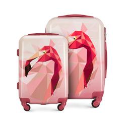 Современный комплект чемоданов из ABS-пластика, розовый, 56-3A-64S-34, Фотография 1