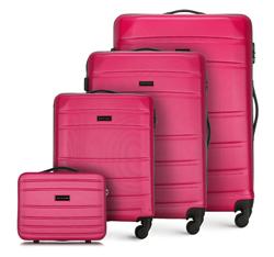 Комплект чемоданов, розовый, 56-3A-65K-34, Фотография 1