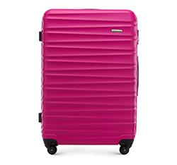 Большой чемодан, розовый, 56-3A-313-34, Фотография 1