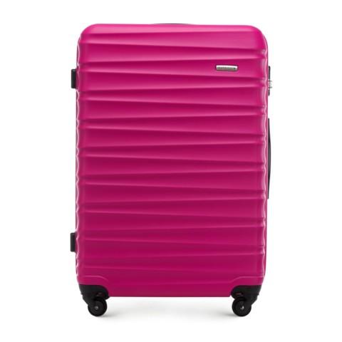 Большой чемодан, розовый, 56-3A-313-01, Фотография 1