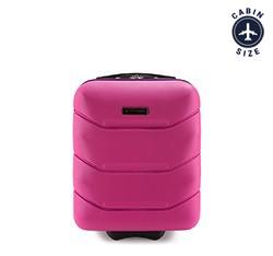 Чемодан ручная кладь, розовый, 56-3A-281-60, Фотография 1