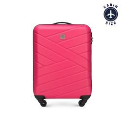 Чемодан ручная кладь, розовый, 56-3A-301-35, Фотография 1