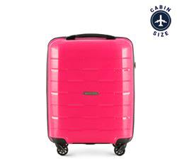 Чемодан ручная кладь, розовый, 56-3T-721-77, Фотография 1
