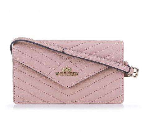 Клатч, розовый, 89-4-254-P, Фотография 1
