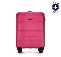 Чемодан ручная кладь, розовый, 56-3A-651-34, Фотография 1