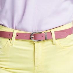 Ремень женский, розовый, 86-8D-307-P-M, Фотография 1