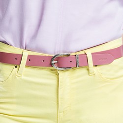 Ремень женский, розовый, 86-8D-307-P-XL, Фотография 1