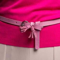 Ремень женский, розовый, 86-8D-311-P-M, Фотография 1