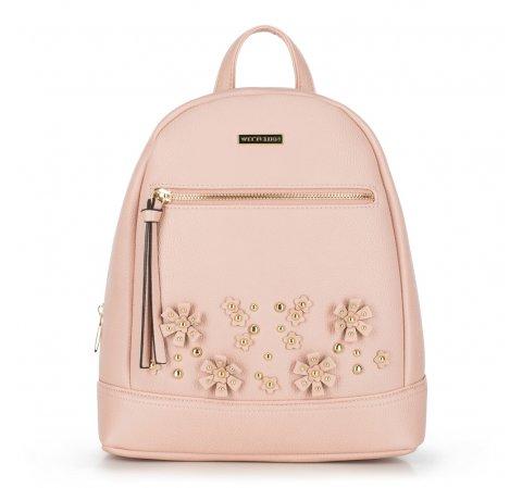 Рюкзак женский, розовый, 90-4Y-713-9, Фотография 1