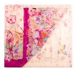 Шарф женский, розовый, 85-7D-S40-X5, Фотография 1