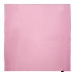 Шелковый шарф маленький, розовый, 91-7D-S14-P, Фотография 1