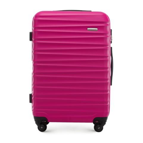 Средний чемодан, розовый, 56-3A-312-11, Фотография 1