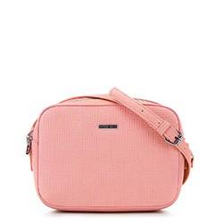 Женская сумка-коробочка через плечо., розовый, 29-4Y-006-PE, Фотография 1