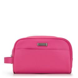 Женская косметичка с боковой ручкой, розовый, 92-3P-507-P, Фотография 1