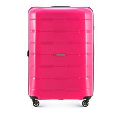 Nagy bőrönd, rózsaszín, 56-3T-723-77, Fénykép 1