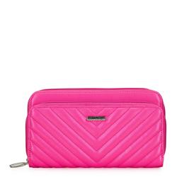 Női steppelt pénztárca, rózsaszín, 92-1Y-576-P, Fénykép 1